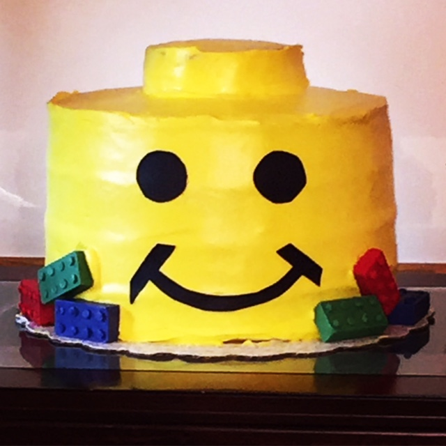 Lego Head Cake The PARTy Planning